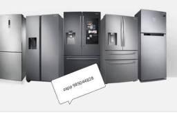 Refrigeração em geladeira