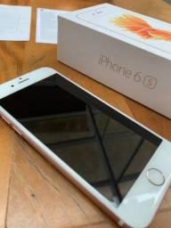 Título do anúncio: iPhone 6s rosê 128 gigas