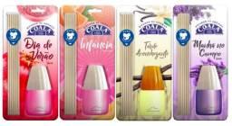 Difusor de Aromas Coala Estilo Varetas Kit com 4 Fragrâncias