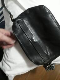 bolsa de couro Arezzo