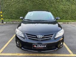 Título do anúncio: Corolla 2.0 Xei 2013 Completo Automático Couro Único Dono Apenas 86.000KM