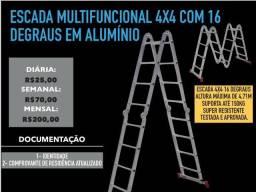 Alugo escada multifuncional 4x4 e escada 4 degraus ( Aluguel )