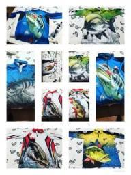 Camisas king pesca UV coleção 2019