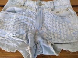 Pra sair logo: short jeans