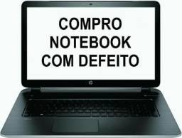 C0mpramos notebooks com defeito