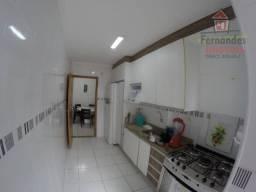 Apartamento mobiliado próximo à praia com 2 dormitórios e 2 vagas para alugar, 86 m² por r