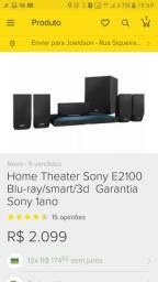 Home teather blu-ray sony smart 3d