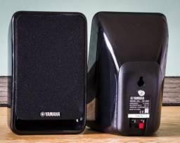 Kit Subwoofer ativo + Caixas de som Yamaha p/ Home theater/receiver 5.1 NS-P20