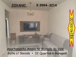(R$240.000) Apartamento Amplo no Bairro Morada do Vale