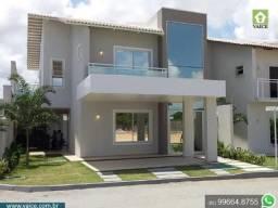 Casa com 205m² - 4 Suítes - Condomínio no Eusébio