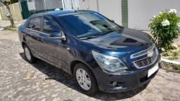 Cobalt 1.8 Ltz Automático Completão Pneus Novos Troco carro barato