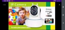 Câmera ip Wi-Fi 1.3 MP Alta Resolução HD 720 Visão Noturna