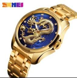 Relógio skmei de luxo masculino