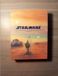 Blu-ray Star Wars NOVO A saga completa 9 discos digistak azul