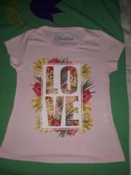 Camisas P e M