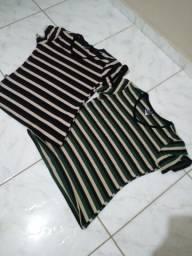 Combo de 2 blusas listradas
