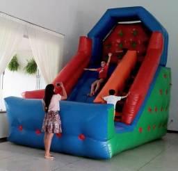 Vendo tobogã inflável 6m