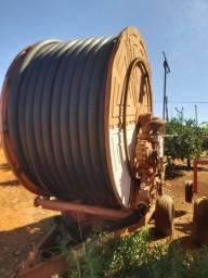 Carretel de irrigação 110mm