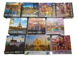 Quebra Cabeça 1000pcs Puzzle Pais E Filho Coluna Game Office