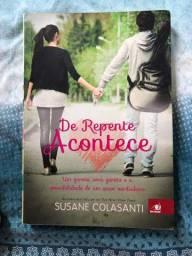 Livro de repente acontece- Susane Colasanti