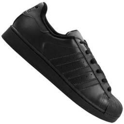 Tênis Adidas Superstar Foundation Preto 42