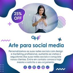 Arte para social media instagram+facebook+marketing+stories