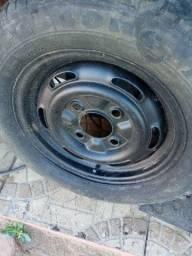 Par de roda de fusca e Brasília