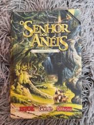 Livro - O Senhor dos anéis - A Sociedade do Anel