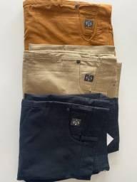 Calças de qualidades $89,90 ,camisa Hering a $30 reais