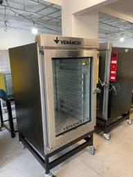 Forno turbo elétrico 10 telas 220v para pão, padaria- supermercado -