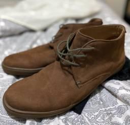 Título do anúncio: Sapato/Bota Jorgito Donatelli em couro - Num 44