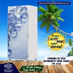Título do anúncio: Câmara de gelo Refrimate 1100 L Nova Frete Grátis