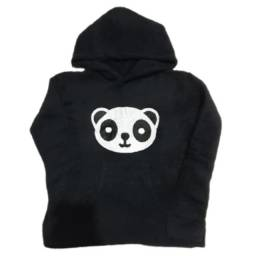 Blusa De Frio Feminina Pelinho - Casaco Felpudo Estampa de Panda