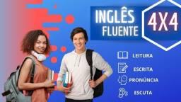 Inglês Fluente Sem mensalidade 100% EAD