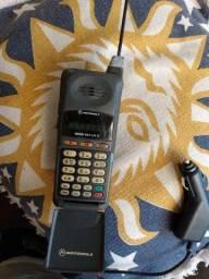 Celular Motorola Lite liga e desliga analógico