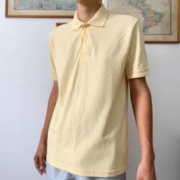 Camisa Amarela Gola Polo
