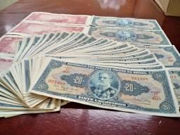 Cédulas de $ 20 Cruzeiros