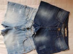 Short jeans. Tam. 38 muito conservado