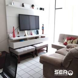 Excelente apartamento quarto e sala com 40m² - Ponta Verde