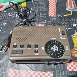 Rádio, relógio motoradio clock Am Fm Digital vintage funcionando