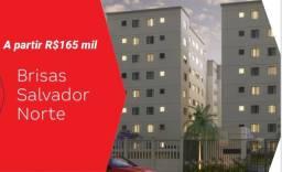 Apartamento 2/4 em frente ao Salvador Norte