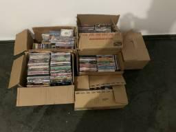 Doa se 6 caixas DVDs e alguns CDds