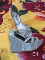 Calçados Femininos - Usados