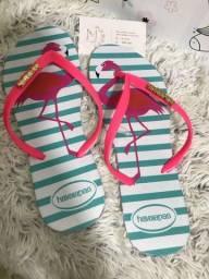 Havaianas e sapatos