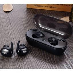 Fone De Ouvido Jbl Speaker Com Bluetooth Sem Fio Com Microfone Walkman
