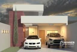 Título do anúncio: Casa com 2 dormitórios à venda, 105 m² por R$ 495.000,00 - Jardim Araucária - Maringá/PR