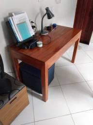 Mesa de estudos/escrivaninha de macacaúba