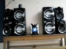 Mini System Panasonic Sc- Akx 105.<br><br>
