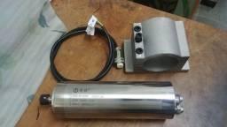 Título do anúncio: Motor Spindle 800w 24000 rpm 1cv 220v novo com nota fiscal para cnc router