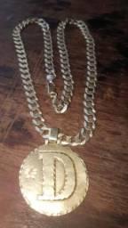 9eb245c5389 Vendo cordão de Prata Banhado a Ouro